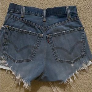 Urban Outfitters Levi Denim Shorts